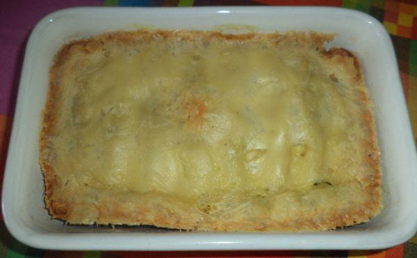 Pasta ripiena con spinaci e ricotta